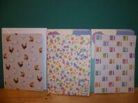 Blank cards, envelopes etc for card making