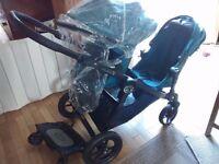 Baby Jogger City Select double / single pram