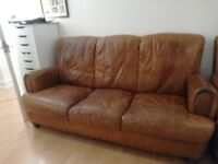 Leather Sofa good condition