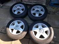 Golf gti alloys, t reg, wheels