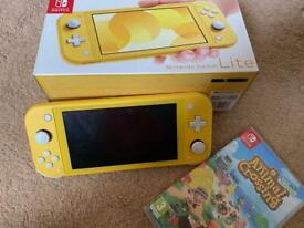 Nintendo Switch Lite with Animal Crossing
