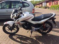 Honda CB125F GLR 2015 excellent condition first motorbike