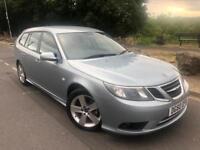 2010 60 Saab 9-3 Turbo Edition 1.9 tid 6 Speed 120 Bhp sport wagon # full leather # parking sensors