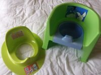 Potty and toilet trainer