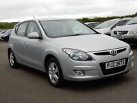 2009 Hyundai I30 comfort 1.4 petrol with only 56000 miles, motd august 2018
