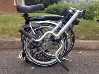 BROMPTON BIKE M3L 3 SPEED GOOD CONDITION