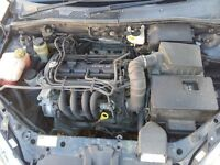 Ford Focus MK1 Zetec SE 1.4 Petrol ENGINE AND GEAR BOX COMPLETE 81,000 miles