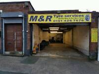 Tyre fitting business for sale