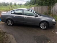 VW Passat with tow bar and in excellent mechanical condition