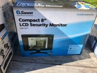 SWANN SECURITY SYSTEM+4 CAMERAS+MONITOR+DVR