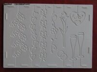 A4 Double sided embossing boards