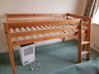Child's bed, no mattress, good condition