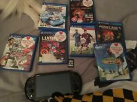 Ps vita and games
