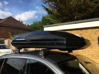 Exodus 470L + Thule roofbars 120cm and fittings 3039