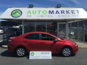 """2014 Toyota Corolla """"S"""" TOP OF THE LINE! LEATHER! WARRANTY!"""