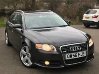 Audi A4 Avant Estate S LINE Automatic 2.0, 2 YEARS WARRANTY, AUTO not bmw mercedes vw ford vauxhall