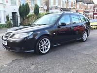SAAB 9-3 ESTATE 1.9 DIESEL BLACK 12 MONTH MOT