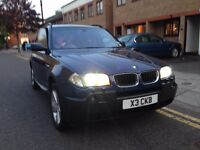 BMW X3 - Blue - New MOT - Full Service History