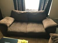 two, 2 seater sofas, need gone asap. Lots of life left in them.