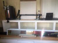 IKEA White shelfing unit
