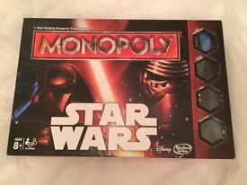Star Wars Monopoly free Trivial Pursuit Travel Card Game