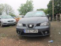 SEAT IBIZA 2007 1.4 LTR PETROL 1 YEAR MOT VERY CLEAN CONDITION CAR!!!