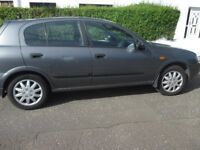 2005 GREY NISSAN ALMERA DRIVING WELL M.O.T. until JULY 2018 77800 miles
