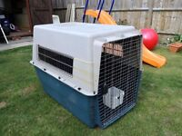 Large Airline Compliant Dog Transport Kennel / Crate