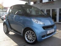 Smart Fortwo 1.0 MHD Passion Softouch 2dr Sat Nav, Glass Roof!! £0 Road Tax!!
