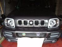 Head lamp protectors for Suzuki Jimny