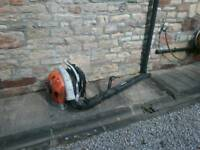 Garden leaf blower Stihl BR550