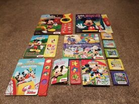 **Collection of - Mickey Mouse Books**