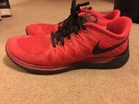 Women's Nike Free 5.0 Red & Black - UK Size 6