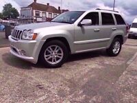 2008 Jeep Grand Cherokee Overland 3.0CRD V6 Auto 5 Door with Service History
