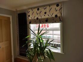 Quality roman blinds