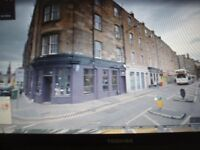 EDINBURGH SHOP TO RENT LEITH £650/MTH