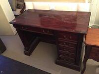 Wooden Partner Desk