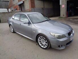 2005 BMW 525D M SPORT 4 DOOR SALOON GREY ****FULLY LOADED******