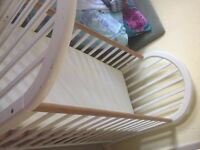 Cot with mattress for free