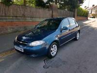 Chevrolet lacetti 1.6 sx 5dr one owner from new f.s.h