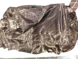 King Size Chocolate Brown Silk Duvet Set