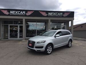 2013 Audi Q7 3.0T 7PASS AUT0 AWD LEATHER PANORAMIC ROOF 93K