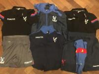 Collection of Crystal Palace Football Club training kit and clothing - all great condition.