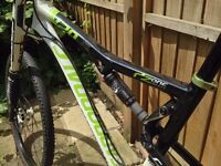 Cannondale RX 120 XLR 2 Full Suspension XC Mountain Bike with Lefty