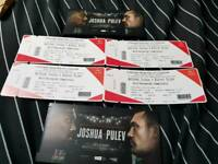 ANTHONY JOSHUA VS KUBRAT PULEV BOXING TICKETS x4 £60 each