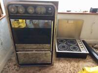 Build in Double oven & hob