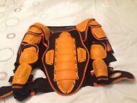 Motocross full body armour
