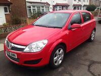 2008 VAUXHALL ASTRA 1.4 CLUB FSH IMMACULATE COND not focus vectra golf megane clio fiesta corsa