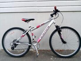 "(2233) 26"" 16"" Lightweight Aluminium CARRERA MOUNTAIN BIKE BICYCLE Height: 153-168 cm"