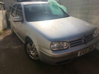 Volkswagen Golf 2.0 GTI 5dr SPARES OR REPAIRS